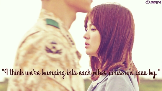 descendants of the sun quote