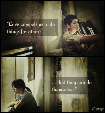 kdrama quote descendants of the sun