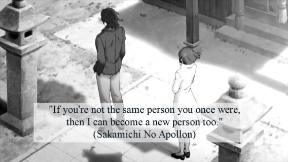 sakamichi no apollon quote